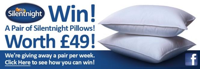 Win A Silentnight Pillow Set!