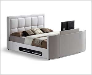 TV Beds | We Stock Beds with Fitted TV's for Added Luxury