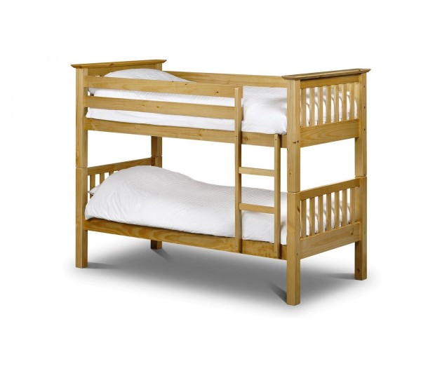 Julian Bowen 3' Single Barcelona Pine Bunk Bed