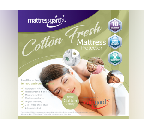 Mattressgard Cotton Fresh Mattress Protector
