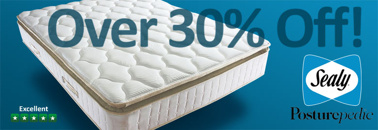Sealy Mattresses - Over 30% OFF! - Buy Online Now