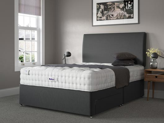 relyon luxury wool zip and link mattress